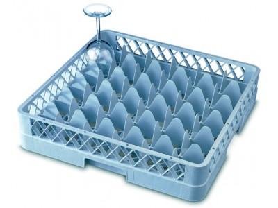 Genware 36 Comp Glass Rack With 2...