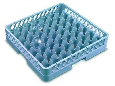 Genware 49 Compartment Glass Rack