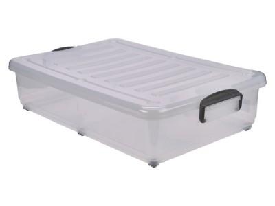 Storage Box 40L W/ Clip Handles On...
