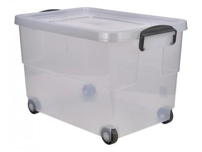 Storage Box 60L W/ Clip Handles On...