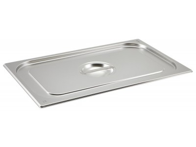 St/St Gastronorm Pan Lid 1/1