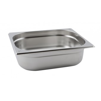 St/St Gastronorm Pan 1/2 -...