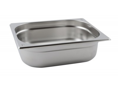 St/st Gastronorm Pan 1/2 65mm Deep -...