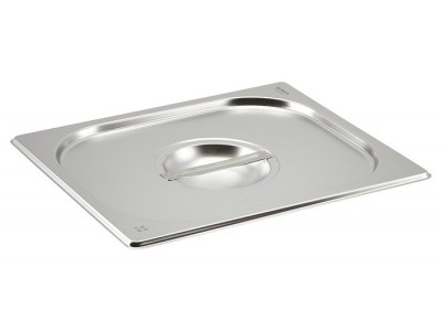 St/St Gastronorm Pan Lid 1/2