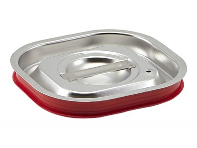 St/St Gastronorm Sealing Pan Lid 1/6
