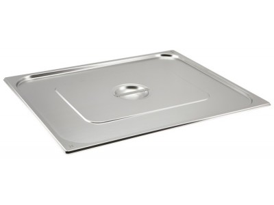 St/St Gastronorm Pan Lid 2/1