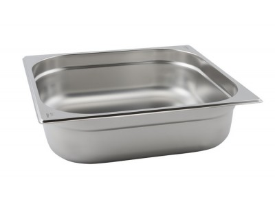 St/St Gastronorm Pan 2/3 - 65mm Deep