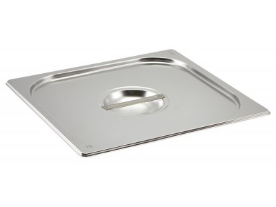 St/St Gastronorm Pan Lid 2/3
