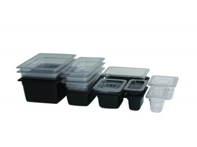 1/2 Polycarbonate GN Lid Clear