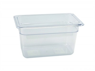 1/4 -Polycarbonate GN Pan 150mm Clear...