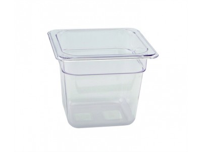 1/6 -Polycarbonate GN Pan 150mm Clear...