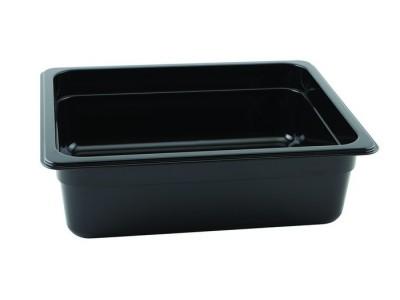 1/2 -Polycarbonate GN Pan 100mm Black