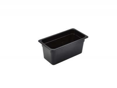 1/3 -Polycarbonate GN Pan 150mm Black