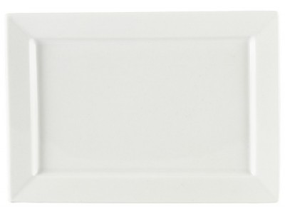Royal Genware Rectangular Plate 24x17cm