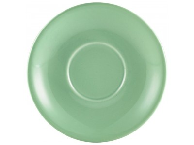 Royal Genware Saucer 12cm Green