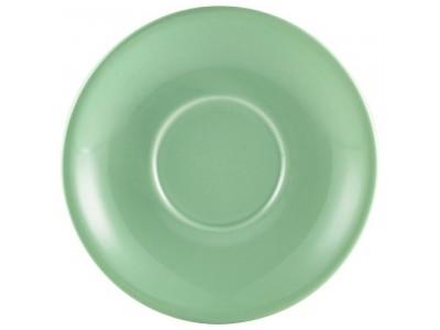 Royal Genware Saucer 13.5cm Green