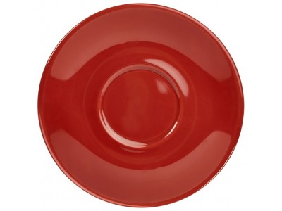 Royal Genware Saucer 13.5cm Red