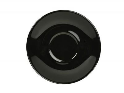 Royal Genware Saucer 16cm Black