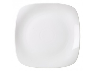 Royal Genware Rounded Square Plate 25cm