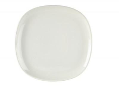 Royal Genware Ellipse Square Plate 21cm