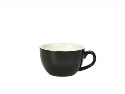 Royal Genware Bowl Shaped Cup 25cl Black