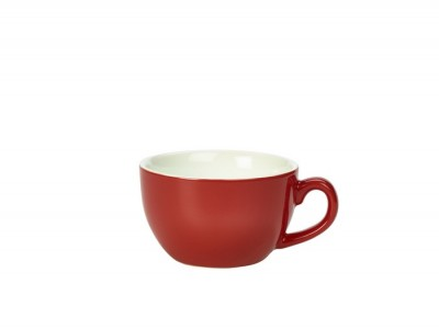 Royal Genware Bowl Shaped Cup 25cl Red