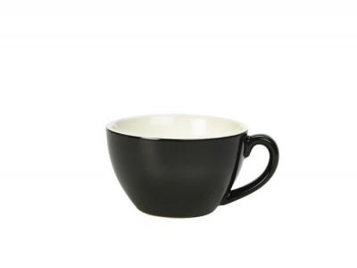 Royal Genware Bowl Shaped Cup 34cl Black