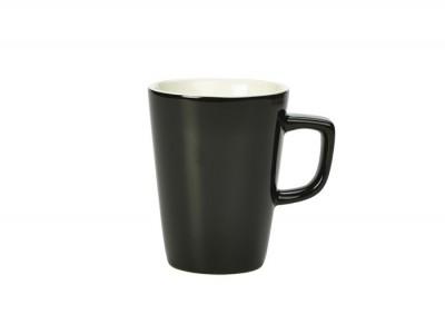 Royal Genware Latte Mug 34cl Black