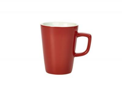Royal Genware Latte Mug 34cl Red