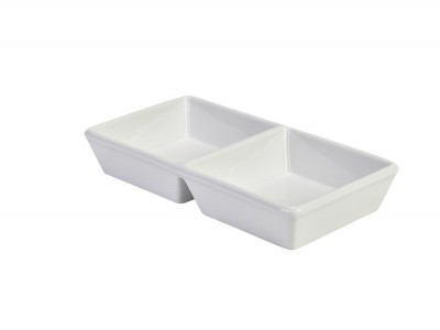 Royal Genware Square Double Dish...