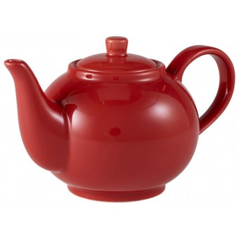 Royal Genware Teapot 45cl Red