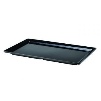 Black Melamine Platter GN...