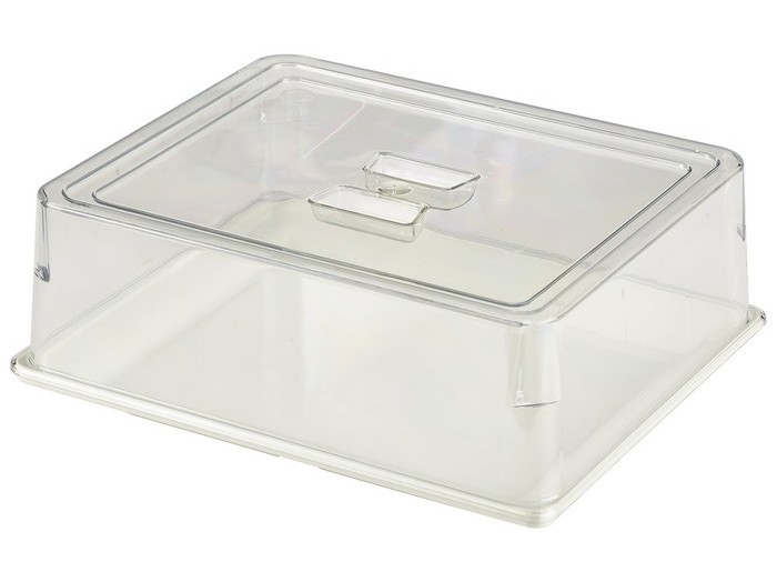 Cambro Clear, 1/2 GN Polycarbonate Hotel Pan Flat Lid, 6