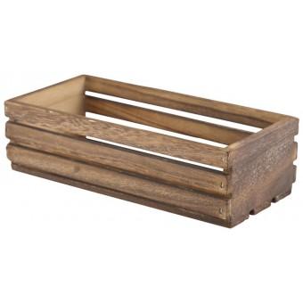 Wooden Crate Dark Rustic...
