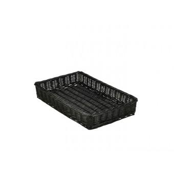 Wicker Display Basket Black...