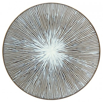 "Allium Sea Plate 10.5"" (27cm)"