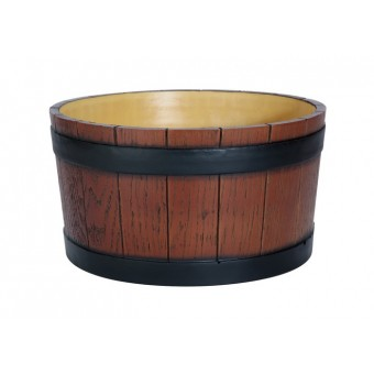 Barrel end ice tub