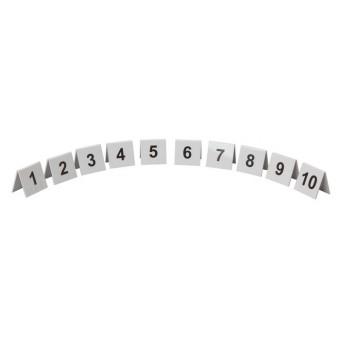 Perspex Table Numbers 1-10