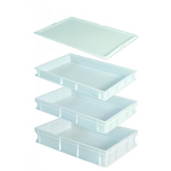 Lid For Dough Tray White