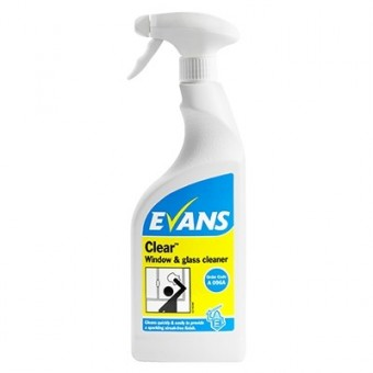 Evans Clear Window Cleaner...