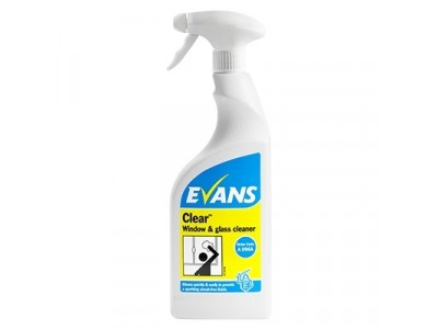 Evans Clear Window Cleaner 750ml