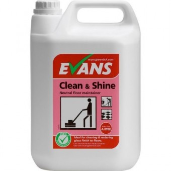 Evans Clean & Shine 5 Litre