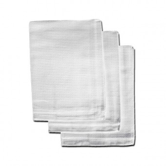 Bleached Honeycomb Tea Towels