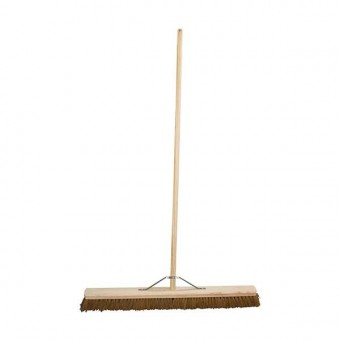 Wooden Sweeping Broom 36""
