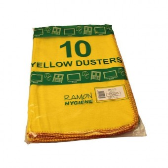 Yellow Duster Cloths