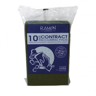 Contract Green Scouring Pads