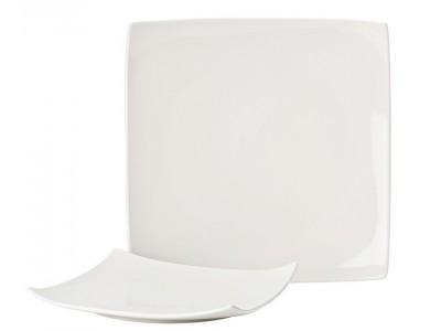 """Pure White Square Plate 10.75"""" (27.5cm)"""