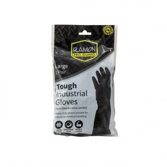Gloves Blk Rubber Optima 1...