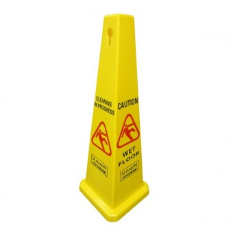 Dual Warning Floor Cone