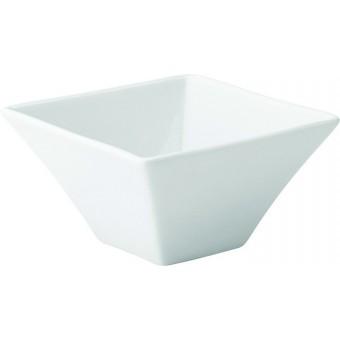 """Pure White Square Bowl 5""""..."""